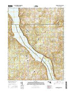 Conowingo Dam Maryland Current topographic map, 1:24000 scale, 7.5 X 7.5 Minute, Year 2016 from Maryland Map Store