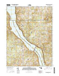 Conowingo Dam Maryland Current topographic map, 1:24000 scale, 7.5 X 7.5 Minute, Year 2016