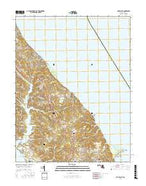 Cove Point Maryland Current topographic map, 1:24000 scale, 7.5 X 7.5 Minute, Year 2016 from Maryland Map Store