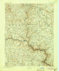 Ellicott Maryland Historical topographic map, 1:62500 scale, 15 X 15 Minute, Year 1894