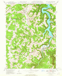 Friendsville Maryland Historical topographic map, 1:24000 scale, 7.5 X 7.5 Minute, Year 1947