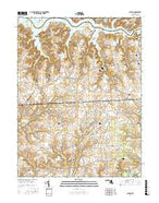 Galena Maryland Current topographic map, 1:24000 scale, 7.5 X 7.5 Minute, Year 2017 from Maryland Map Store