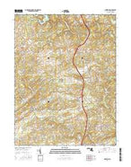 Hereford Maryland Current topographic map, 1:24000 scale, 7.5 X 7.5 Minute, Year 2016 from Maryland Map Store