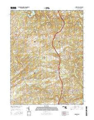 Hereford Maryland Current topographic map, 1:24000 scale, 7.5 X 7.5 Minute, Year 2016