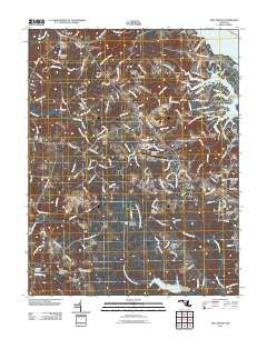 Hollywood Maryland Historical topographic map, 1:24000 scale, 7.5 X 7.5 Minute, Year 2011