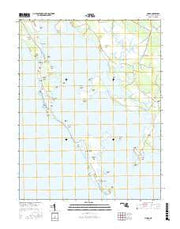 Honga Maryland Current topographic map, 1:24000 scale, 7.5 X 7.5 Minute, Year 2016 from Maryland Maps Store