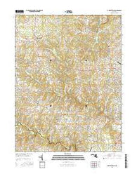 Jarrettsville Maryland Current topographic map, 1:24000 scale, 7.5 X 7.5 Minute, Year 2016