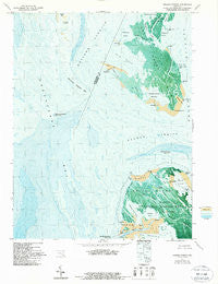 Kedges Straits Maryland Historical topographic map, 1:24000 scale, 7.5 X 7.5 Minute, Year 1972