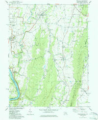 Keedysville Maryland Historical topographic map, 1:24000 scale, 7.5 X 7.5 Minute, Year 1978