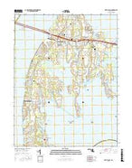 Kent Island Maryland Current topographic map, 1:24000 scale, 7.5 X 7.5 Minute, Year 2016 from Maryland Map Store