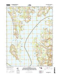 Langford Creek Maryland Current topographic map, 1:24000 scale, 7.5 X 7.5 Minute, Year 2016