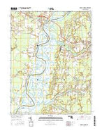 Mardela Springs Maryland Current topographic map, 1:24000 scale, 7.5 X 7.5 Minute, Year 2016 from Maryland Map Store
