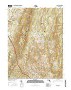 Myersville Maryland Current topographic map, 1:24000 scale, 7.5 X 7.5 Minute, Year 2016 from Maryland Map Store