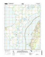 Nanticoke Maryland Current topographic map, 1:24000 scale, 7.5 X 7.5 Minute, Year 2016 from Maryland Map Store