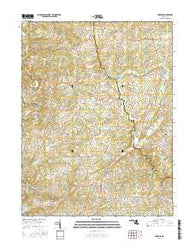 Phoenix Maryland Current topographic map, 1:24000 scale, 7.5 X 7.5 Minute, Year 2016