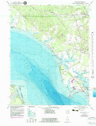 Piney Point Maryland Historical topographic map, 1:24000 scale, 7.5 X 7.5 Minute, Year 1968