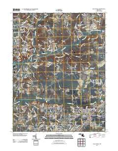 Piscataway Maryland Historical topographic map, 1:24000 scale, 7.5 X 7.5 Minute, Year 2011