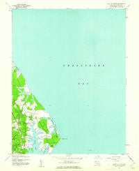 Point No Point Maryland Historical topographic map, 1:24000 scale, 7.5 X 7.5 Minute, Year 1943
