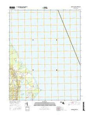 Point No Point Maryland Current topographic map, 1:24000 scale, 7.5 X 7.5 Minute, Year 2016 from Maryland Maps Store