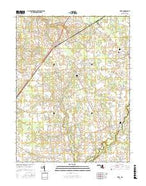 Price Maryland Current topographic map, 1:24000 scale, 7.5 X 7.5 Minute, Year 2017 from Maryland Map Store