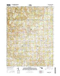 Rising Sun Maryland Current topographic map, 1:24000 scale, 7.5 X 7.5 Minute, Year 2016