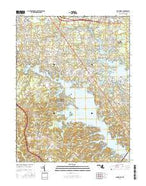 Round Bay Maryland Current topographic map, 1:24000 scale, 7.5 X 7.5 Minute, Year 2016 from Maryland Map Store