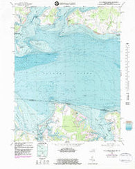 St. Clements Island Maryland Historical topographic map, 1:24000 scale, 7.5 X 7.5 Minute, Year 1968