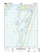 Tingles Island Maryland Current topographic map, 1:24000 scale, 7.5 X 7.5 Minute, Year 2016 from Maryland Map Store