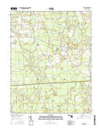 Wango Maryland Current topographic map, 1:24000 scale, 7.5 X 7.5 Minute, Year 2016 from Maryland Map Store