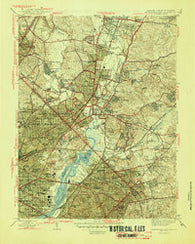 Washington East District of Columbia Historical topographic map, 1:31680 scale, 7.5 X 7.5 Minute, Year 1945