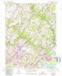 White Marsh Maryland Historical topographic map, 1:24000 scale, 7.5 X 7.5 Minute, Year 1949