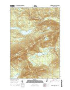 Barren Mountain East Maine Current topographic map, 1:24000 scale, 7.5 X 7.5 Minute, Year 2014 from Maine Map Store