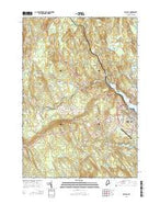 Belfast Maine Current topographic map, 1:24000 scale, 7.5 X 7.5 Minute, Year 2014 from Maine Map Store