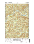 Big Rapids Maine Current topographic map, 1:24000 scale, 7.5 X 7.5 Minute, Year 2014 from Maine Map Store