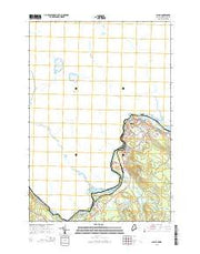 Calais Maine Current topographic map, 1:24000 scale, 7.5 X 7.5 Minute, Year 2014 from Maine Maps Store