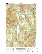 Canton Maine Current topographic map, 1:24000 scale, 7.5 X 7.5 Minute, Year 2014 from Maine Maps Store