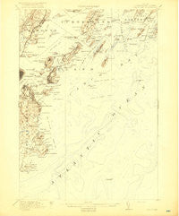 Casco Bay Maine Historical topographic map, 1:62500 scale, 15 X 15 Minute, Year 1916