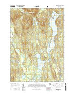 Center Lovell Maine Current topographic map, 1:24000 scale, 7.5 X 7.5 Minute, Year 2014 from Maine Map Store