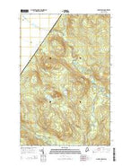Charles Pond Maine Current topographic map, 1:24000 scale, 7.5 X 7.5 Minute, Year 2014 from Maine Map Store