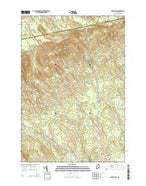 Charleston Maine Current topographic map, 1:24000 scale, 7.5 X 7.5 Minute, Year 2014 from Maine Map Store