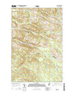 Daigle Maine Current topographic map, 1:24000 scale, 7.5 X 7.5 Minute, Year 2014 from Maine Map Store