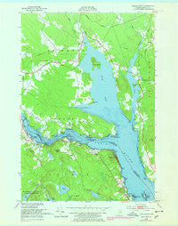 Devils Head Maine Historical topographic map, 1:24000 scale, 7.5 X 7.5 Minute, Year 1949