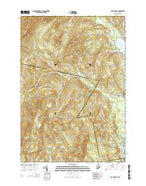East Dixfield Maine Current topographic map, 1:24000 scale, 7.5 X 7.5 Minute, Year 2014 from Maine Map Store