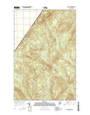 East Lake SE Maine Current topographic map, 1:24000 scale, 7.5 X 7.5 Minute, Year 2014 from Maine Maps Store