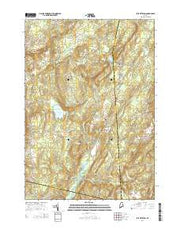 East Pittston Maine Current topographic map, 1:24000 scale, 7.5 X 7.5 Minute, Year 2014 from Maine Maps Store