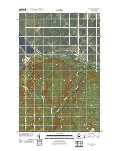 Estcourt Quebec Historical topographic map, 1:24000 scale, 7.5 X 7.5 Minute, Year 2011
