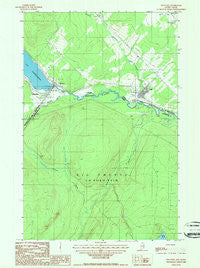 Estcourt Quebec Historical topographic map, 1:24000 scale, 7.5 X 7.5 Minute, Year 1987