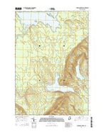 Farrow Mountain Maine Current topographic map, 1:24000 scale, 7.5 X 7.5 Minute, Year 2014 from Maine Map Store