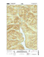 First Musquacook Lake Maine Current topographic map, 1:24000 scale, 7.5 X 7.5 Minute, Year 2014 from Maine Map Store