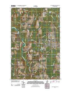 Fort Fairfield NW Maine Historical topographic map, 1:24000 scale, 7.5 X 7.5 Minute, Year 2011